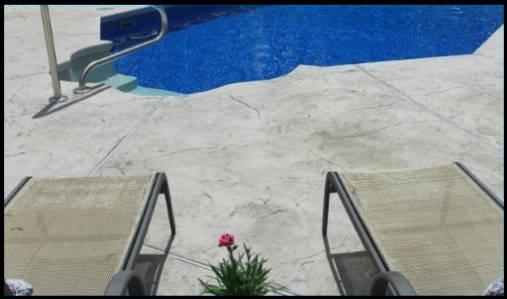 Optimum-Stamped Concrete