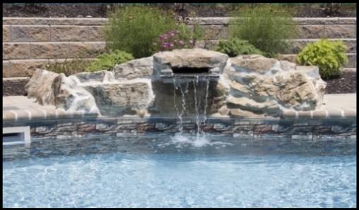 Natural Stone Waterfall | Optimum Pool Package