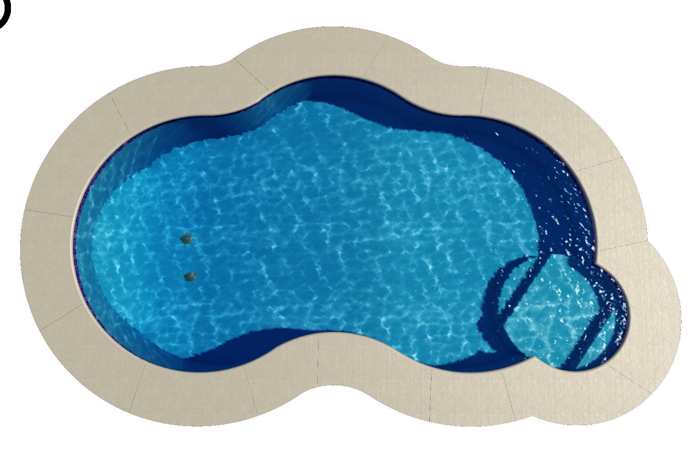 Santorini with 8' Sundeck